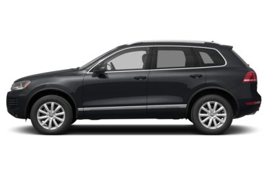 90 Degree Profile 2014 Volkswagen Touareg