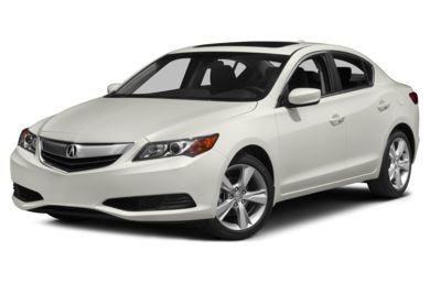 3/4 Front Glamour 2014 Acura ILX
