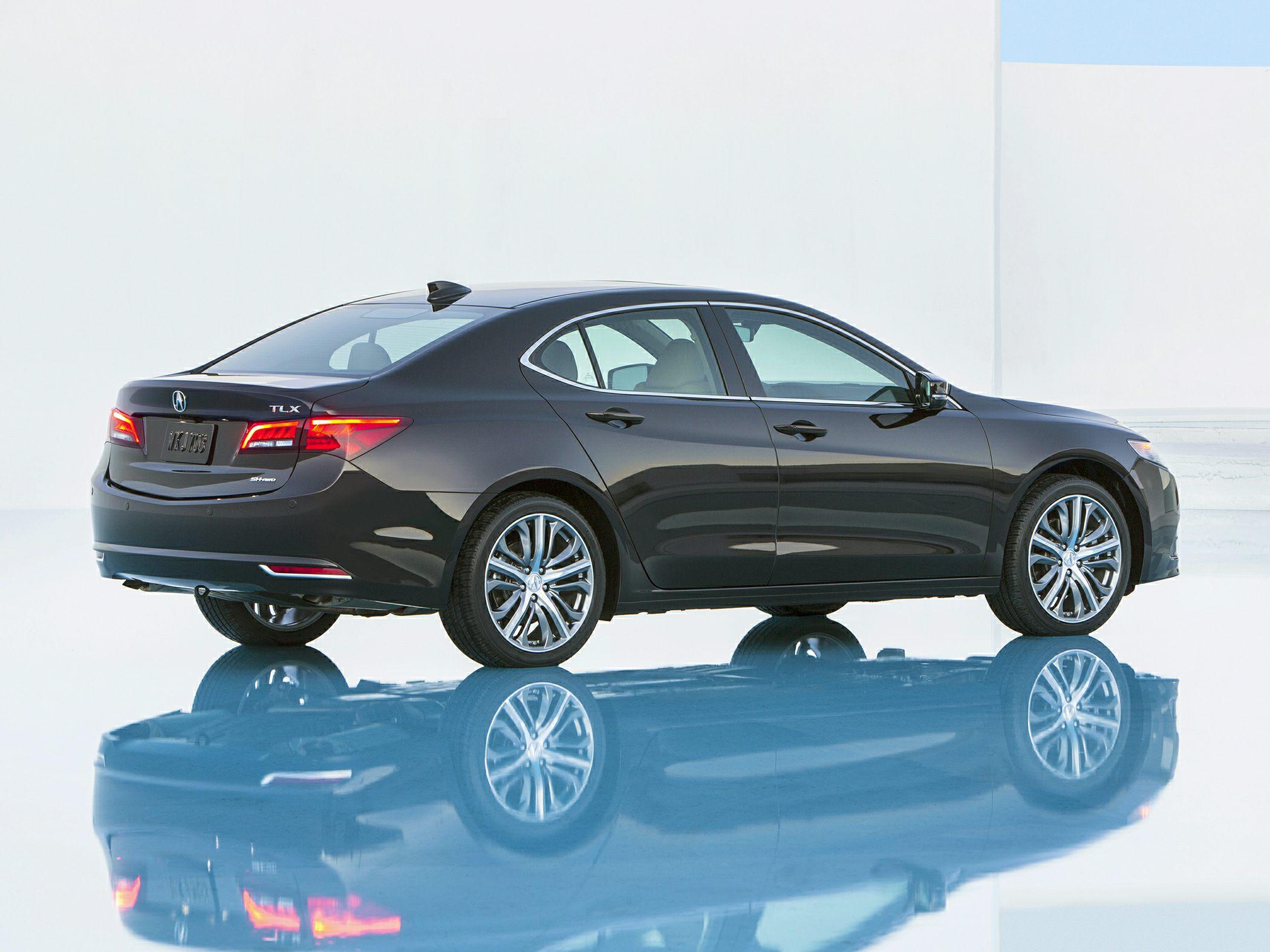 Acura TLX Rear Quarter