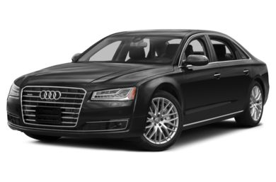 3/4 Front Glamour 2015 Audi A8