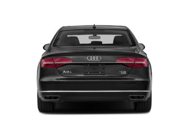 Rear Profile  2015 Audi A8