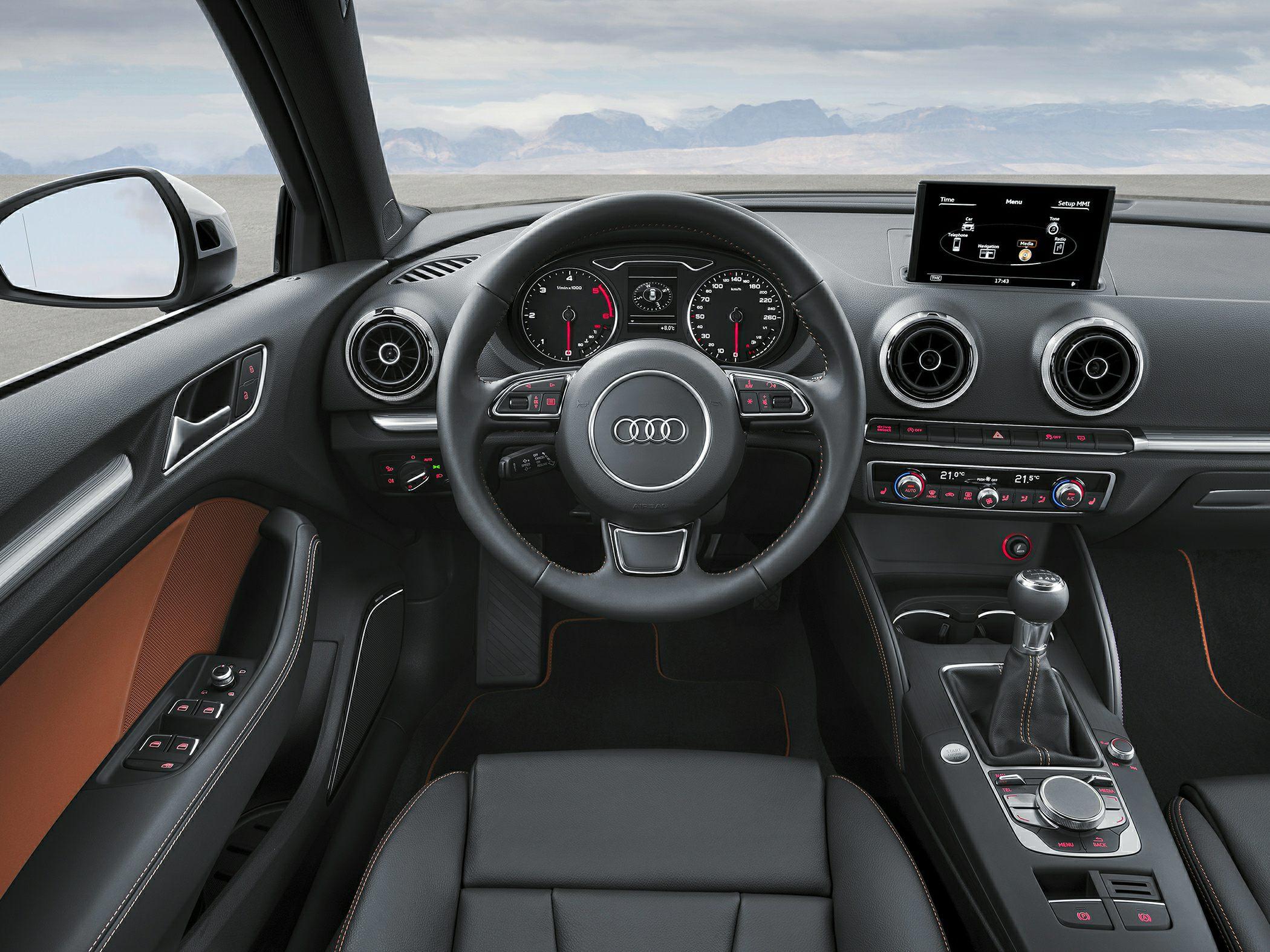 2015 Audi A3 Interior