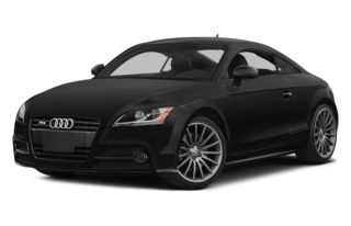 3/4 Front Glamour 2014 Audi TTS