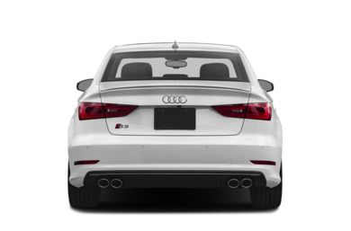 Rear Profile  2015 Audi S3