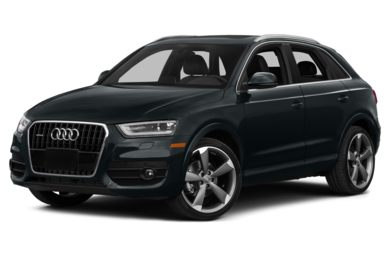 3/4 Front Glamour 2015 Audi Q3