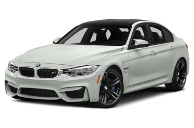 3/4 Front Glamour 2015 BMW M3