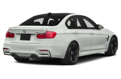 3/4 Rear Glamour  2015 BMW M3