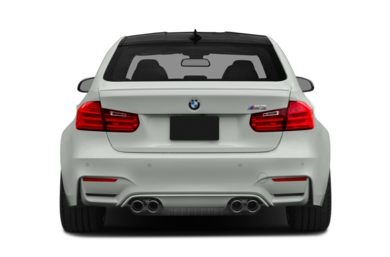 Rear Profile  2015 BMW M3