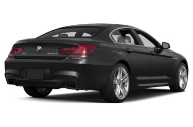 3/4 Rear Glamour  2015 BMW 640 Gran Coupe