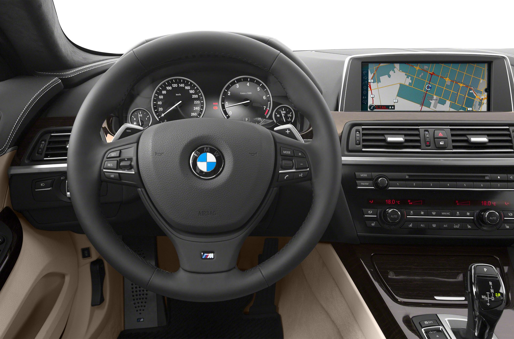 2015 BMW 640 Gran Coupe Interior
