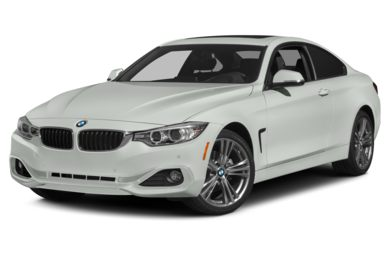 3/4 Front Glamour 2015 BMW 428