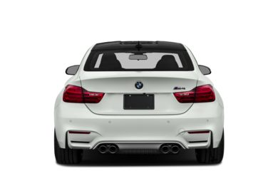 Rear Profile  2015 BMW M4