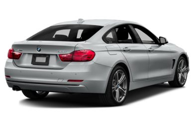 3/4 Rear Glamour  2015 BMW 435 Gran Coupe