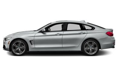 90 Degree Profile 2015 BMW 435 Gran Coupe