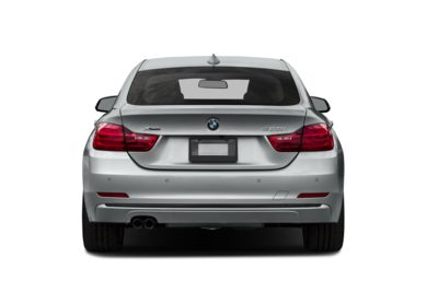 Rear Profile  2015 BMW 435 Gran Coupe