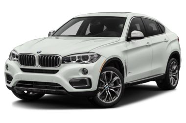 3/4 Front Glamour 2018 BMW X6