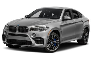 3/4 Front Glamour 2018 BMW X6 M