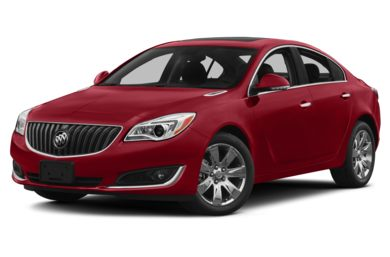 3/4 Front Glamour 2015 Buick Regal
