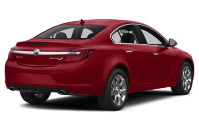 3/4 Rear Glamour  2015 Buick Regal