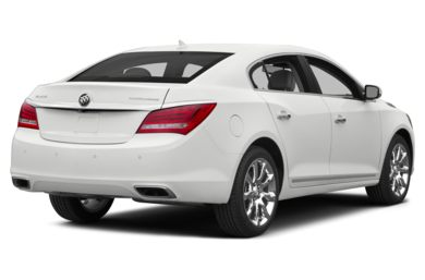 3/4 Rear Glamour  2015 Buick LaCrosse