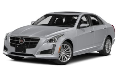3/4 Front Glamour 2015 Cadillac CTS