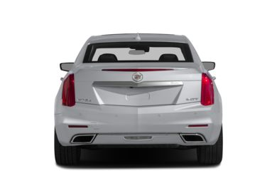 Rear Profile  2015 Cadillac CTS