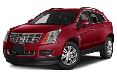 3/4 Front Glamour 2015 Cadillac SRX