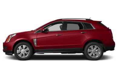 90 Degree Profile 2015 Cadillac SRX