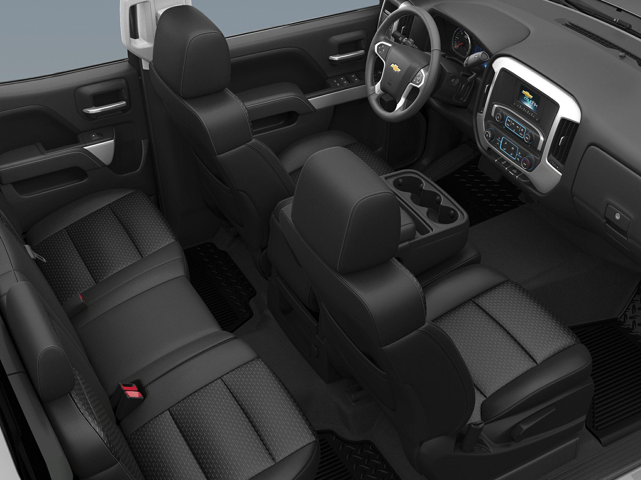 2015 Chevrolet Silverado 3500HD Interior