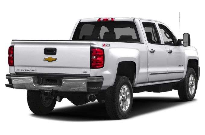 Chevrolet Silverado 2500HD Rear Quarter