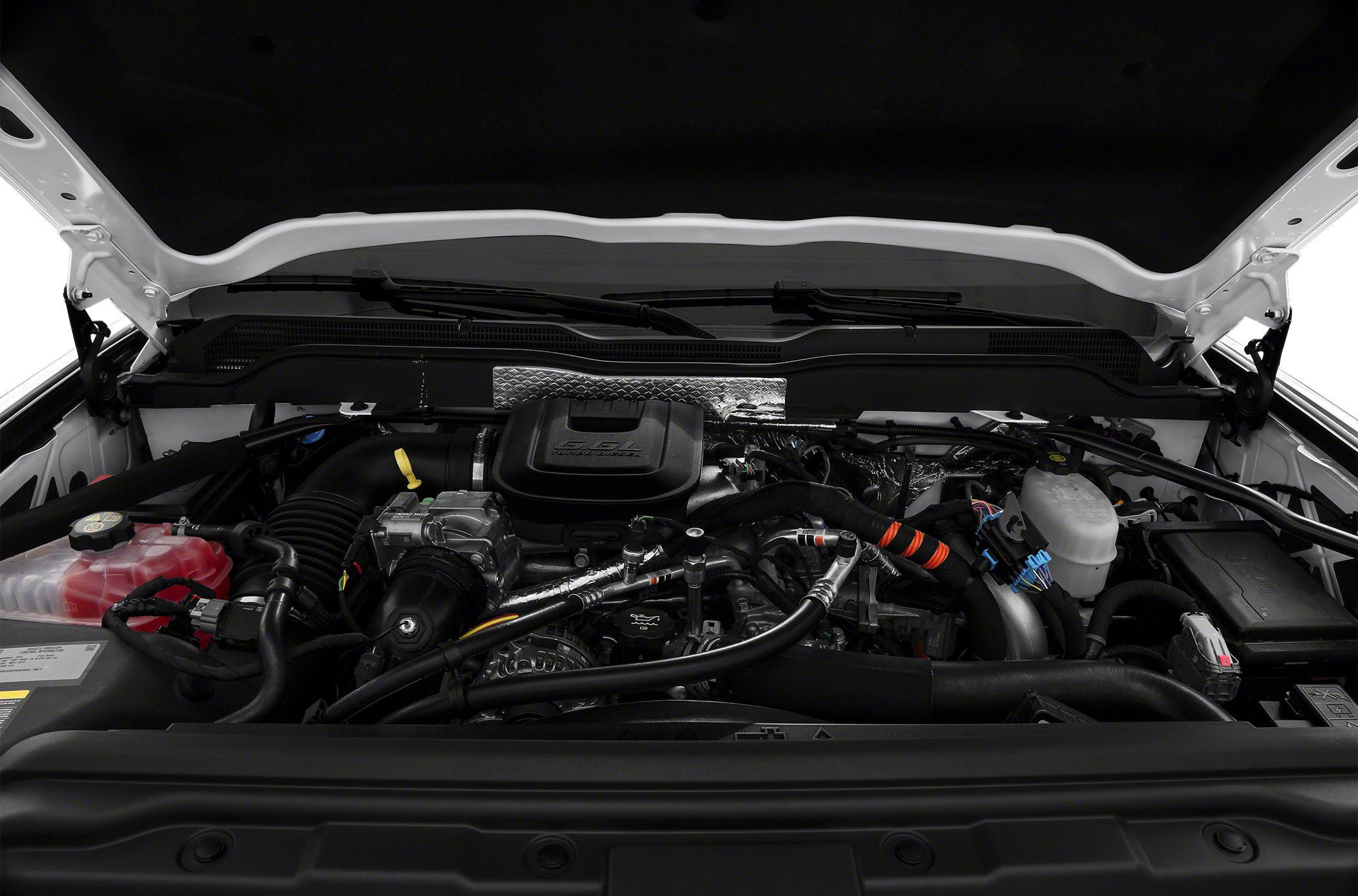 2015 Chevrolet Silverado 3500HD Hood