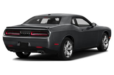 3/4 Rear Glamour  2015 Dodge Challenger