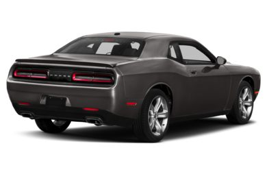 3/4 Rear Glamour  2018 Dodge Challenger