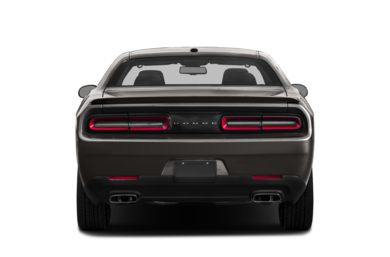 Rear Profile  2018 Dodge Challenger