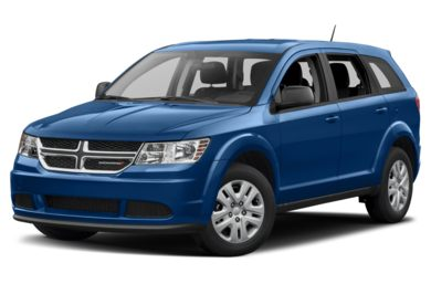 3/4 Front Glamour 2017 Dodge Journey