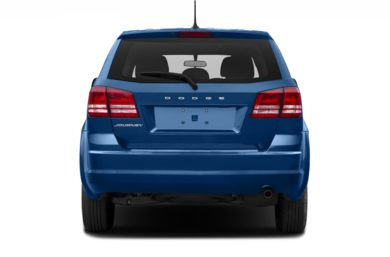 Rear Profile  2017 Dodge Journey