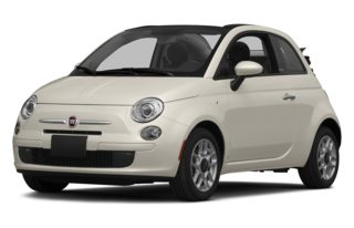 3/4 Front Glamour 2015 FIAT 500c
