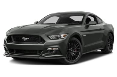 3/4 Front Glamour 2016 Ford Mustang