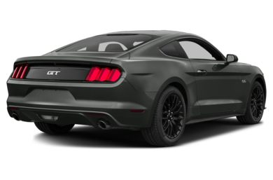 3/4 Rear Glamour  2016 Ford Mustang