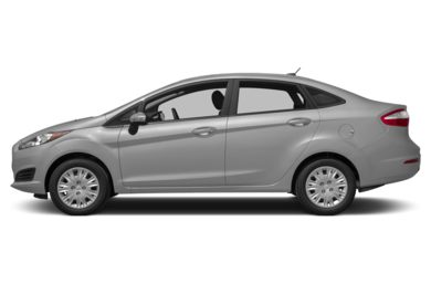 90 Degree Profile 2015 Ford Fiesta