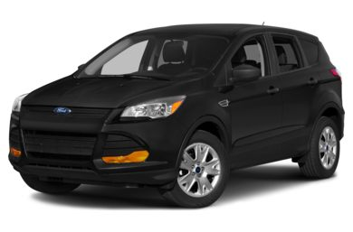 3/4 Front Glamour 2015 Ford Escape