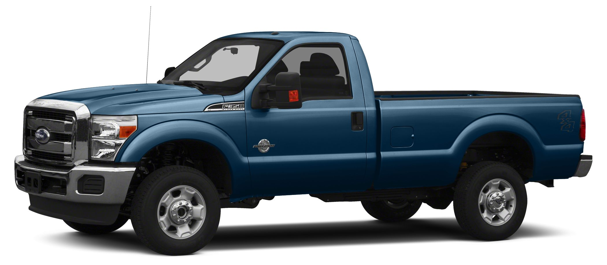 2015 Ford F-350 side