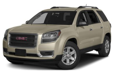 3/4 Front Glamour 2015 GMC Acadia