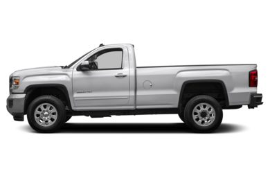 90 Degree Profile 2016 GMC Sierra 2500HD