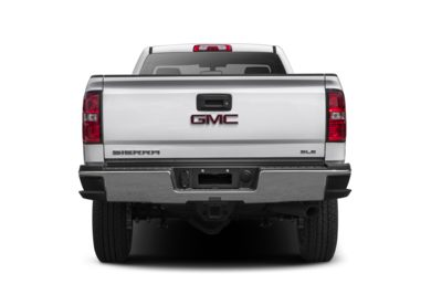 Rear Profile  2016 GMC Sierra 2500HD