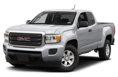3/4 Front Glamour 2016 GMC Canyon