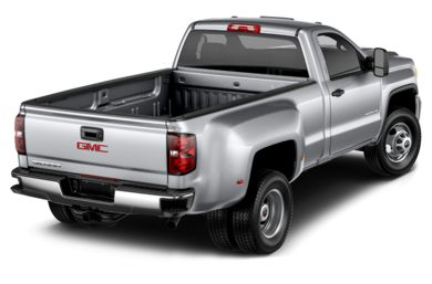 3/4 Rear Glamour  2016 GMC Sierra 3500HD