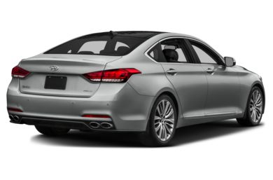 3/4 Rear Glamour  2015 Hyundai Genesis Sedan