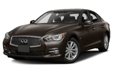 3/4 Front Glamour 2014 INFINITI Q50