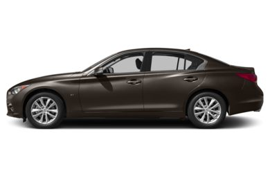 90 Degree Profile 2014 INFINITI Q50